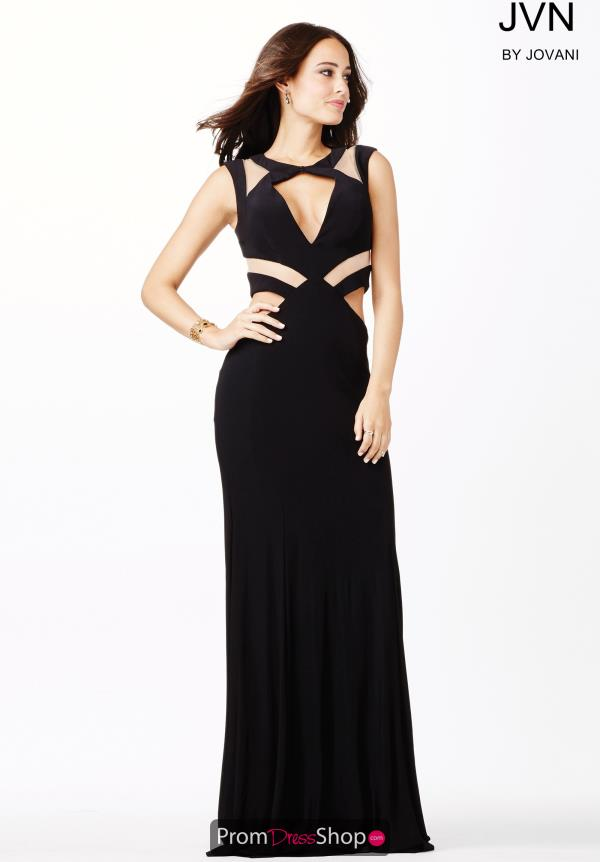 JVN by Jovani Jersey Fitted Evening Gown JVN33419