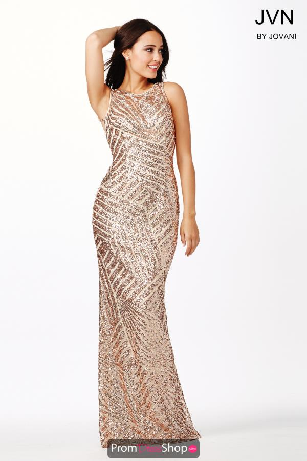 JVN by Jovani Sexy Open Back Dress JVN36780