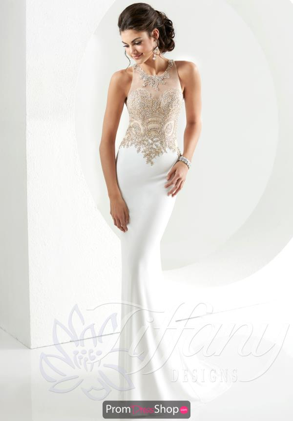 Tiffany Open Back Fitted Dress 16137