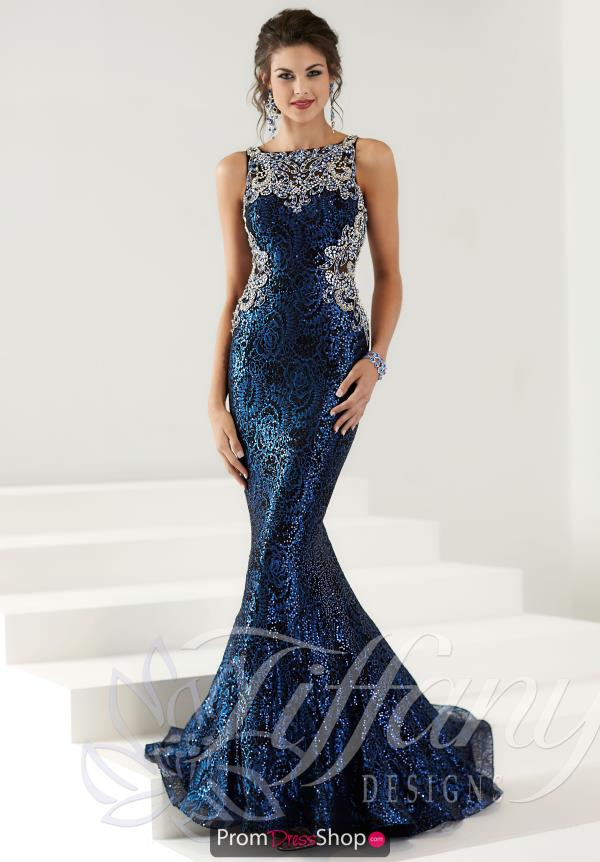 Tiffany Lace Mermaid Dress 16149