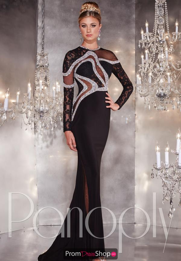 Panoply Long Sleeved Beaded Dress 14736