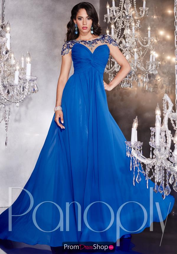 Cap Sleeved Beaded Panoply Dress 14738