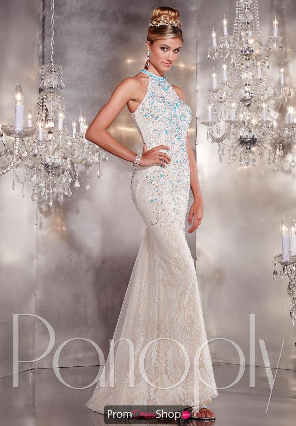 Panoply Fitted Long Dress 14739