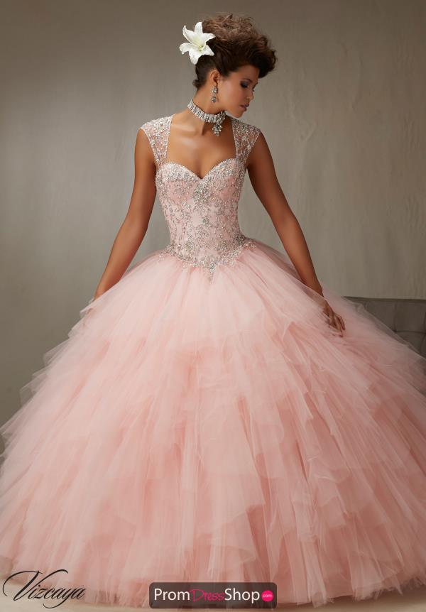 Vizcaya Quinceanera Tulle Skirt Ball Gown 89066