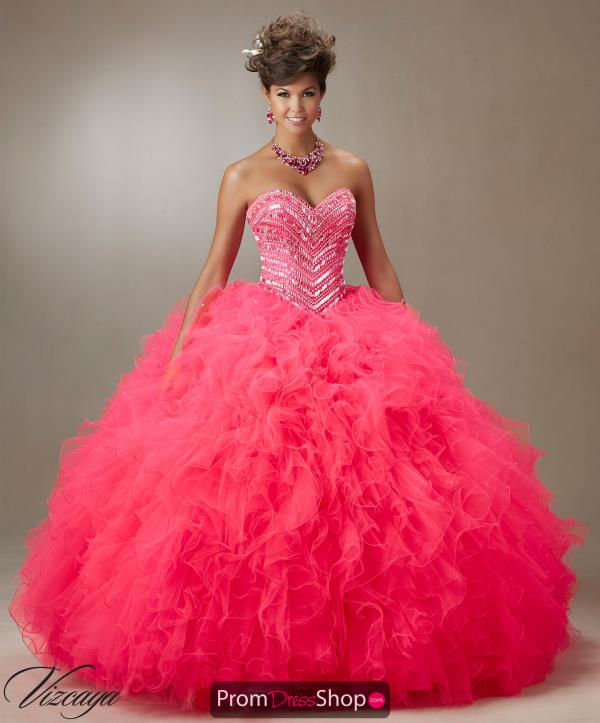 Vizcaya Quinceanera Beaded Ball Gown 89072