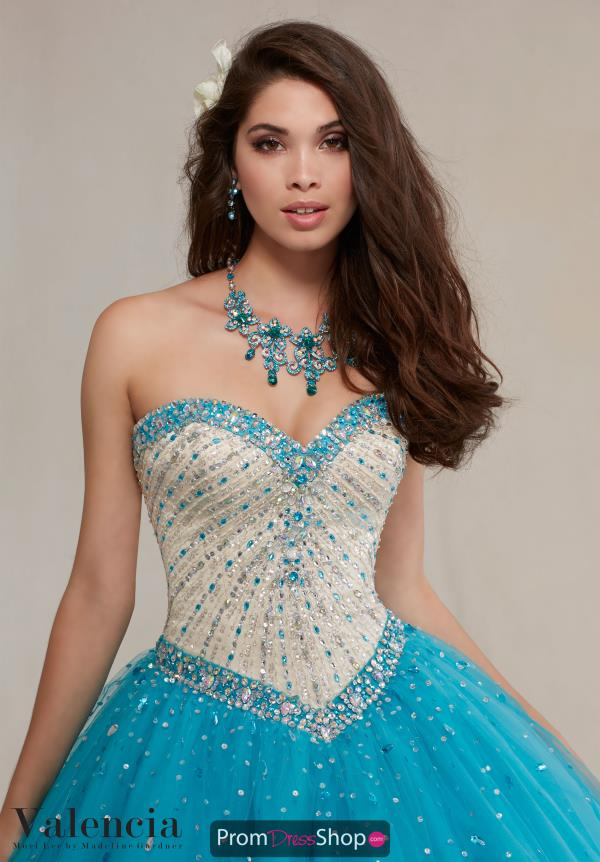 Stunning Beaded Vizcaya Quinceanera Dress 89083