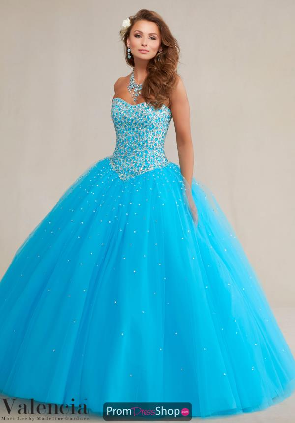 Vizcaya Quinceanera Long Tulle Dress 89085