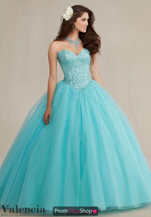 Stunning Long Vizcaya Quinceanera Dress 89087