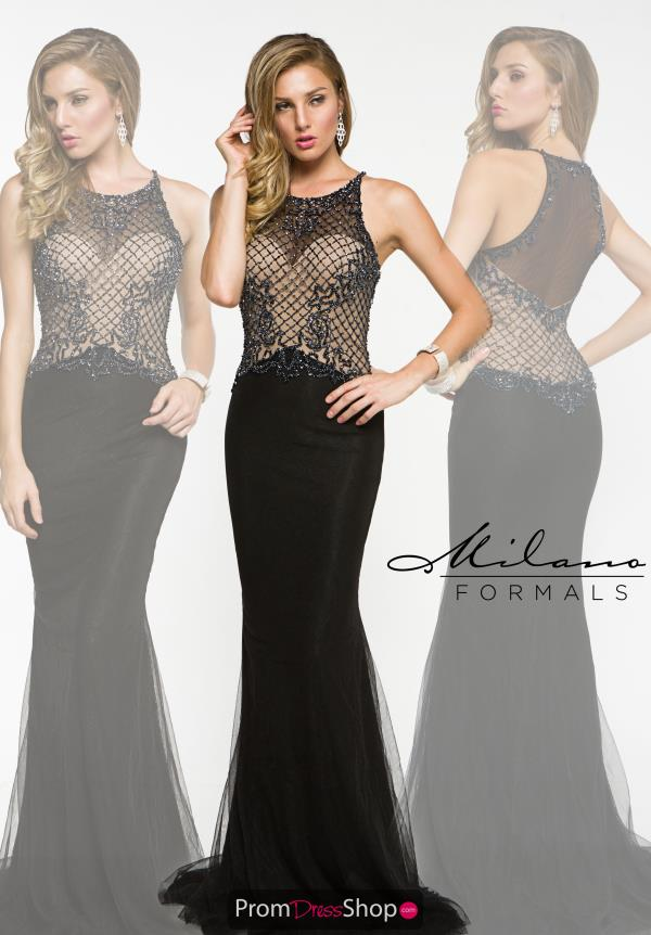Long Elegant Milano Formals Dress E1920
