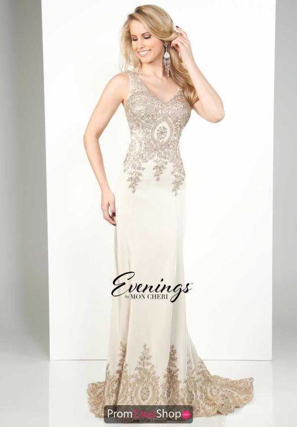 6e6c5d8fec Evenings by Mon Cheri Beaded Long Dress MCE11647