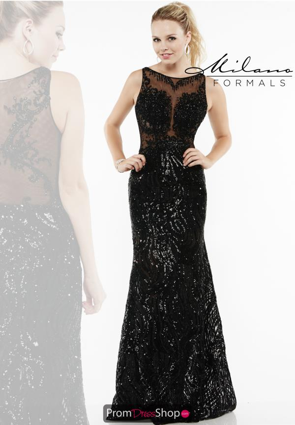Milano Formals Sequins Long Dress E1945