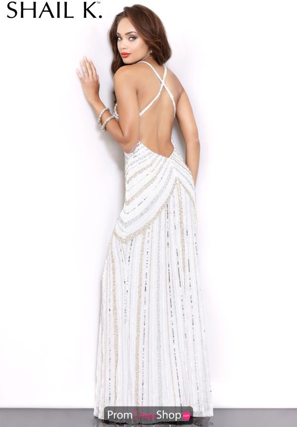 Sexy Open Back Shail K Dress 3784