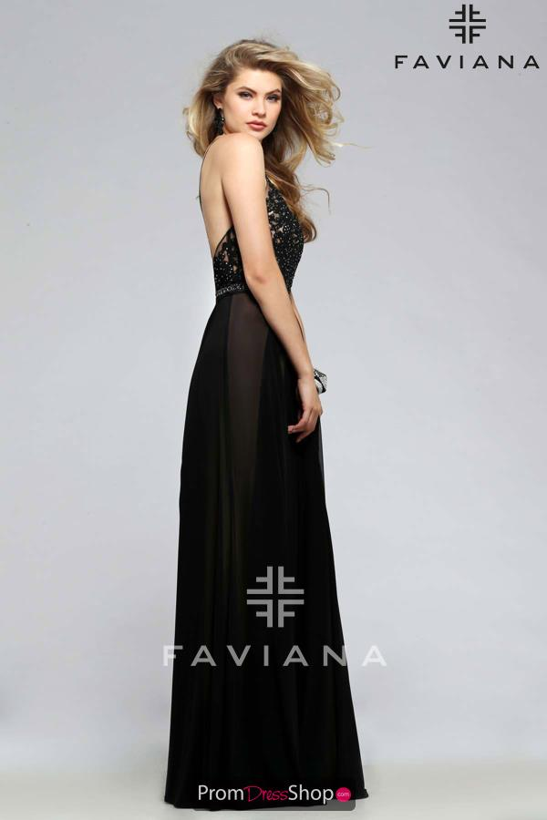 Criss Cross Faviana Dress 7717