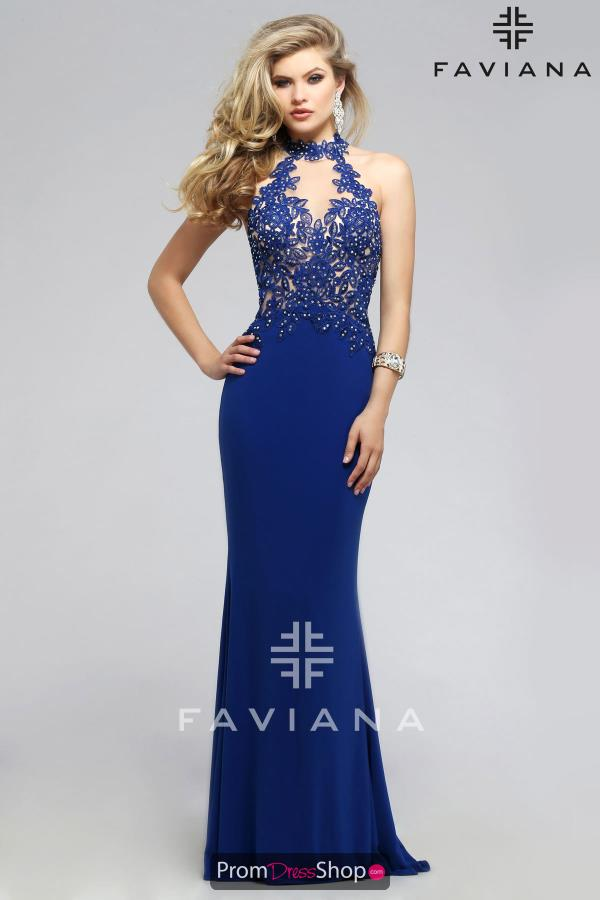 Faviana Sexy Fitted Dress 7750