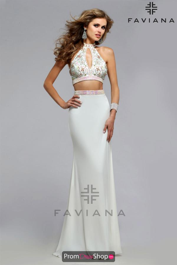 Sexy Jersey Faviana Dress S7719