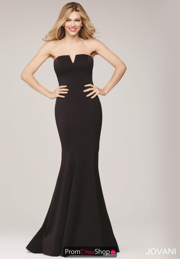 JVN by Jovani Long Fitted Dress JVN31147