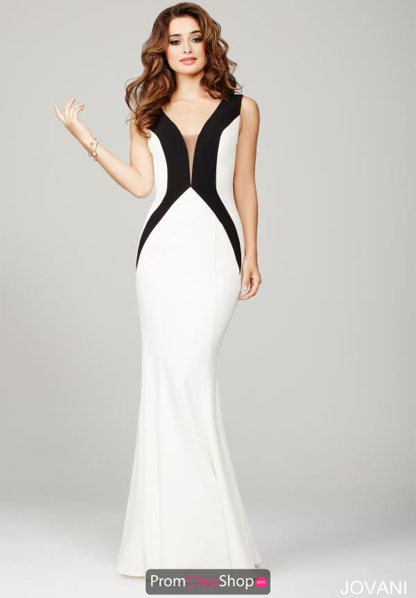 Long Fitted Jovani Dress 36648