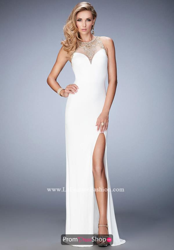 Gigi Long Jersey Dress 22825