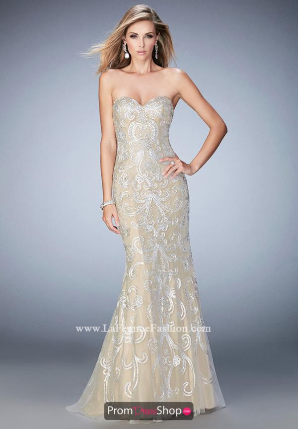 Gigi Strapless Mermaid Dress 22931