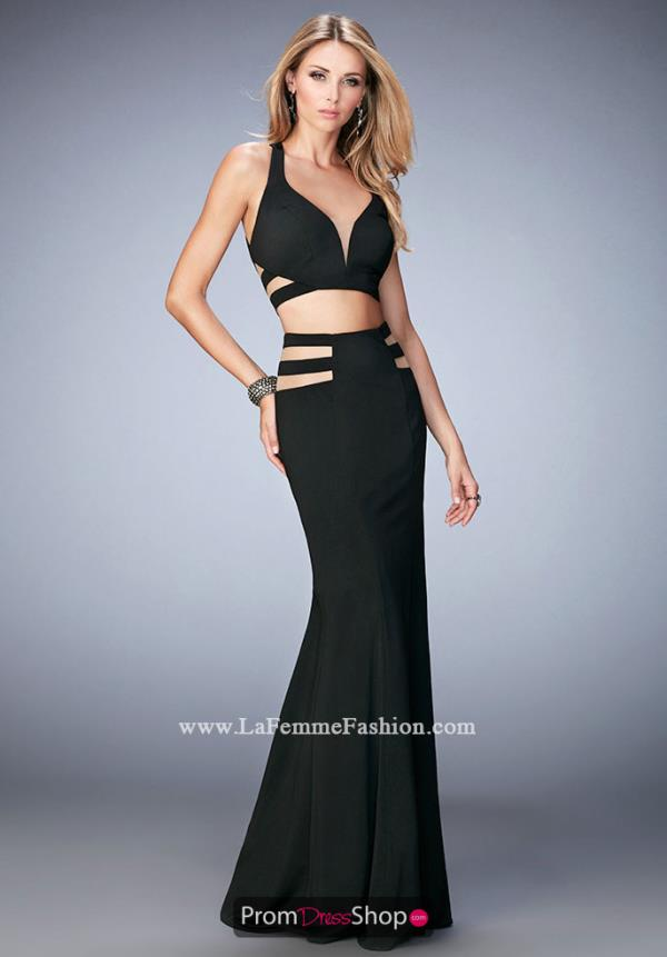 La Femme Two Piece Sexy Dress 22367