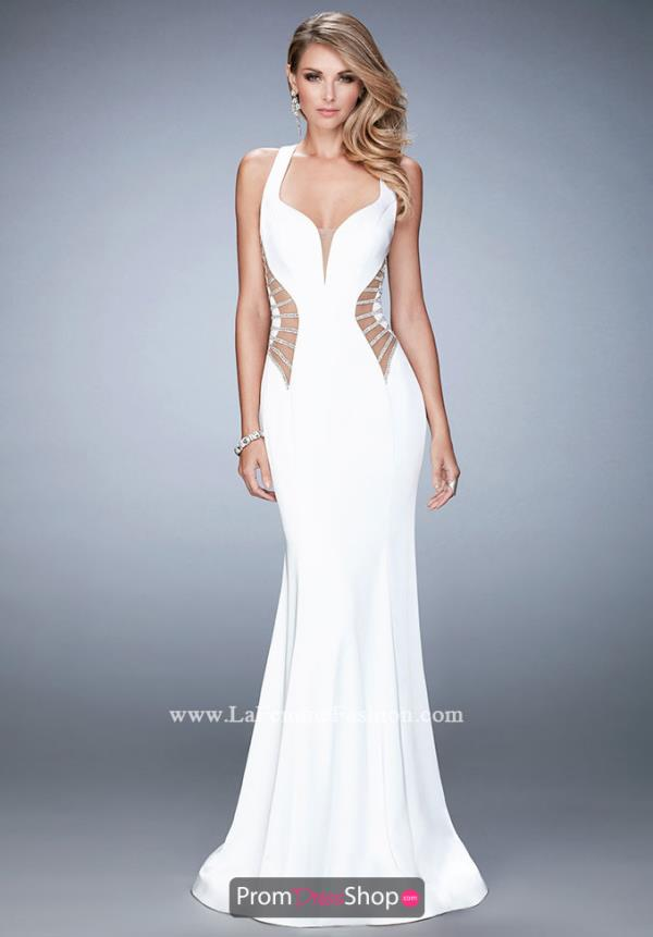 Sexy Fitted La Femme Dress 22742