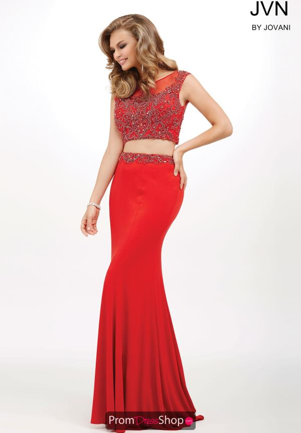 Two Piece JVN by Jovani Dress JVN33699
