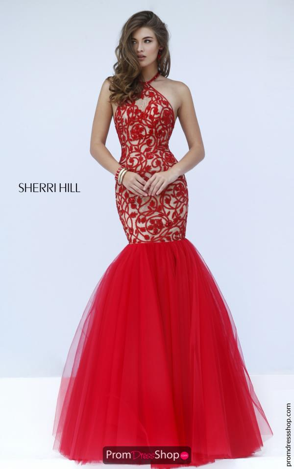 Stunning Mermaid Sherri Hill Dress 50015