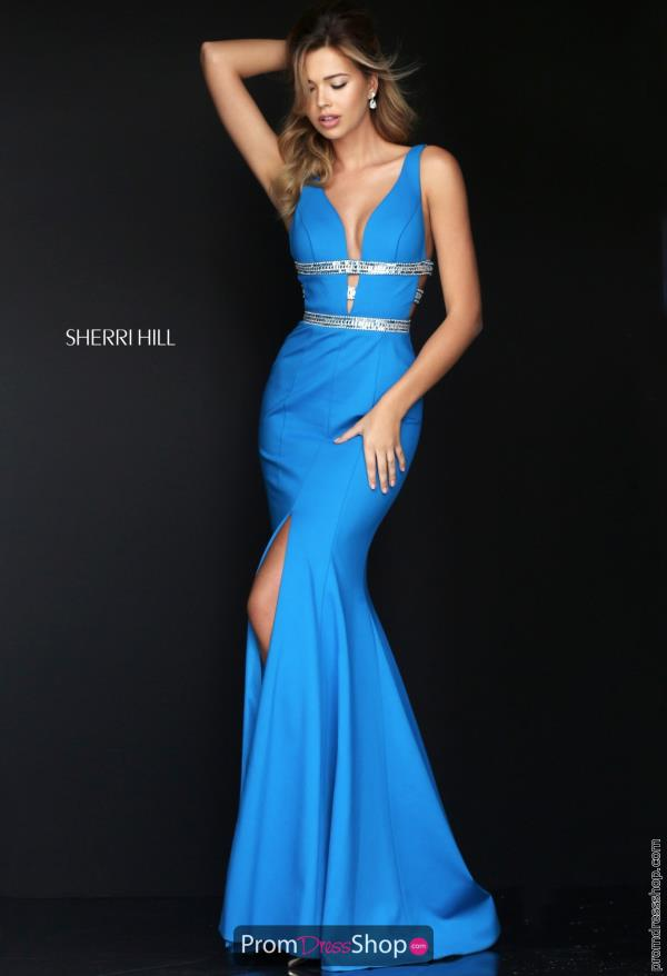 Sexy Long Sherri Hill Formal Dress 50184