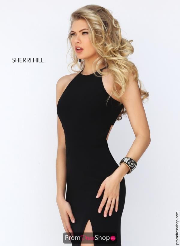 Sherri Hill High Neckline Winter Formal Fitted Dress 32340