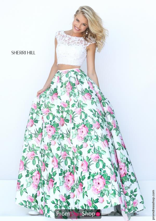 Sherri Hill Long Two Piece Dress 50492