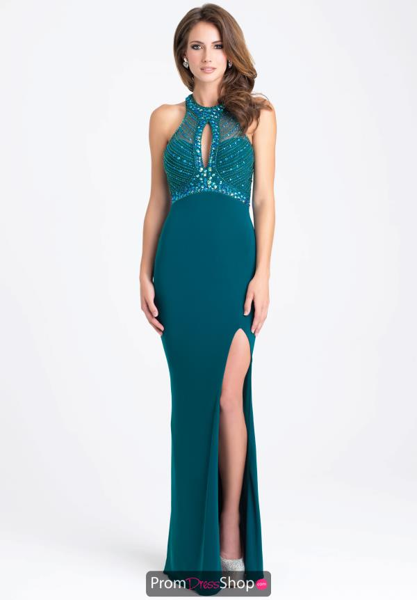 Madison James Beaded Jersey Dress 16-392
