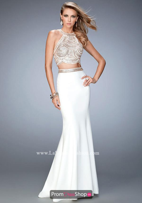 Gigi Two Piece Ivory Dress 22587