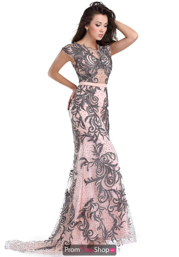 Beaded Romance Couture Prom Dress RD1511