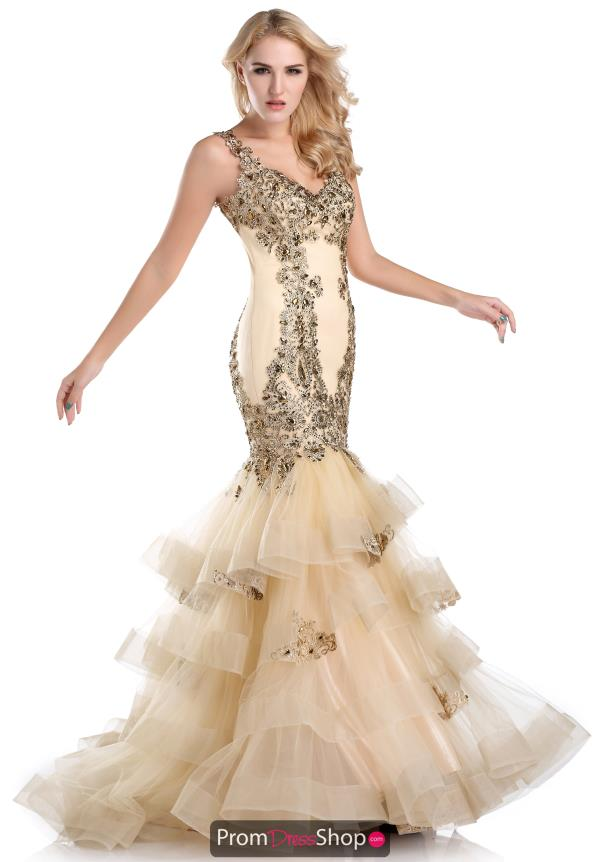 Beaded Romance Couture Pageant Dress RD1586