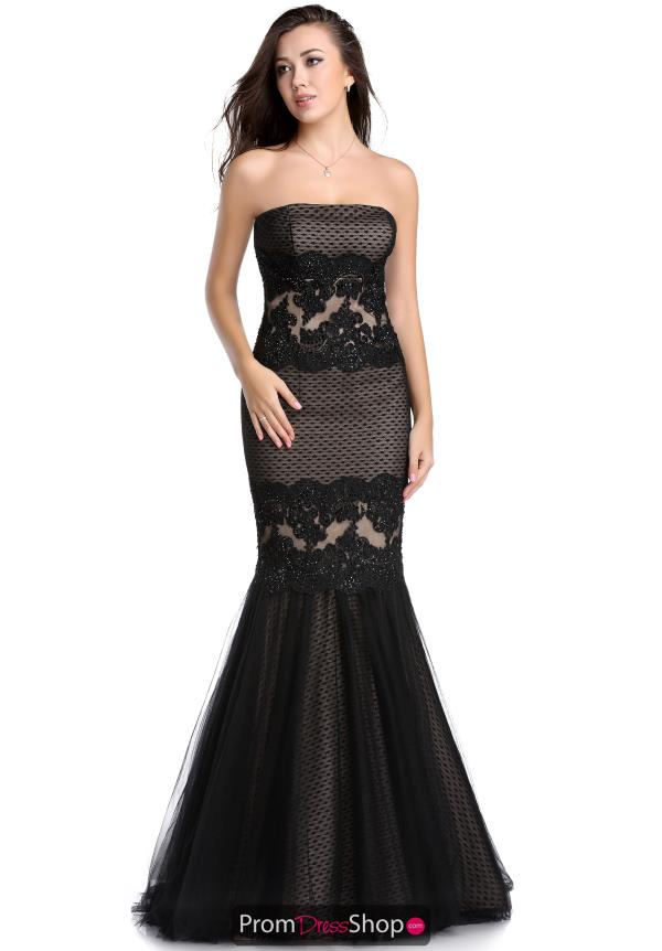 Strapless Lace Romance Couture Dress RD1592