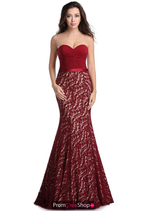 Romance Couture Mermaid Prom Dress RD1614
