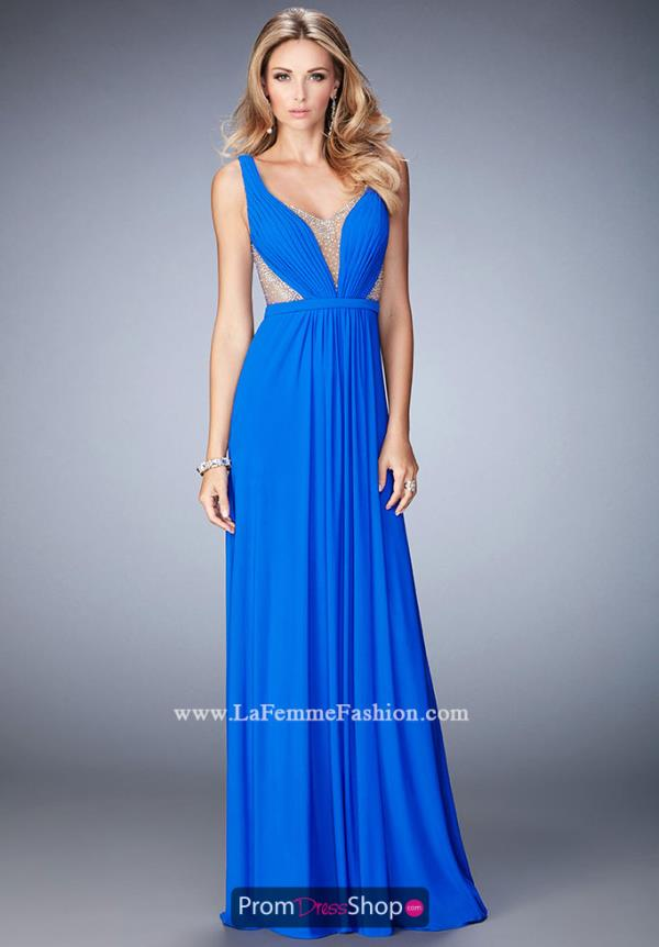 Sexy Fitted La Femme Dress 22238