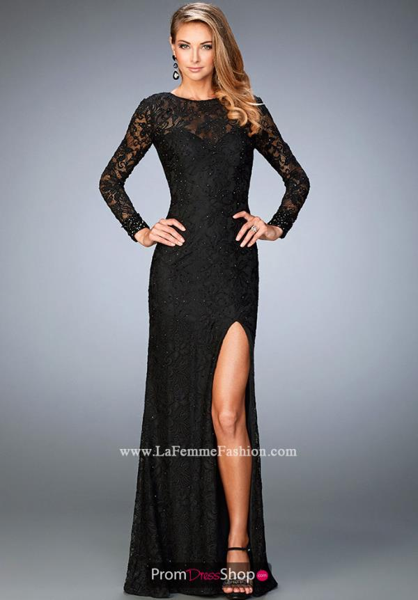 Special Occasion Sexy La Femme Dress 22409