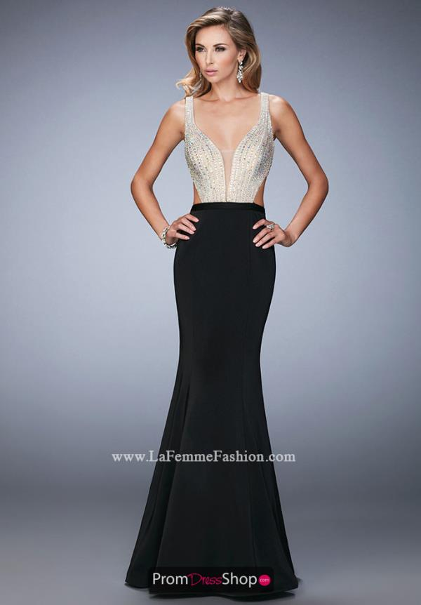 Sexy Beaded La Femme Dress 22767