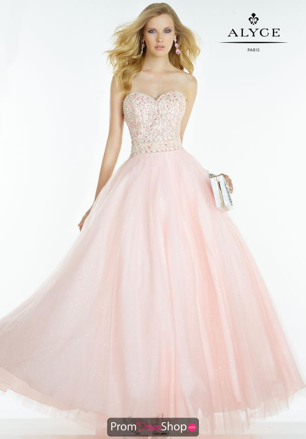Sweetheart Alyce Paris Prom Dress 6609