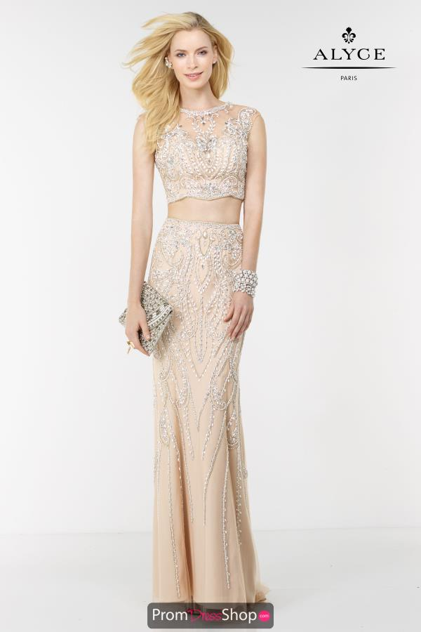 Long Alyce Paris Prom Dress 6611