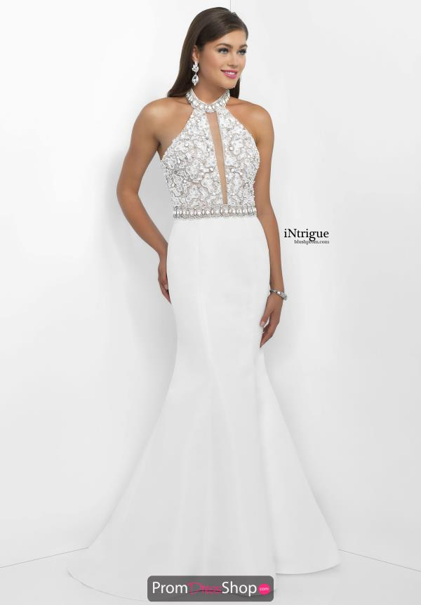 Beaded Fit and Flare Intrigue by Blush Dress 135
