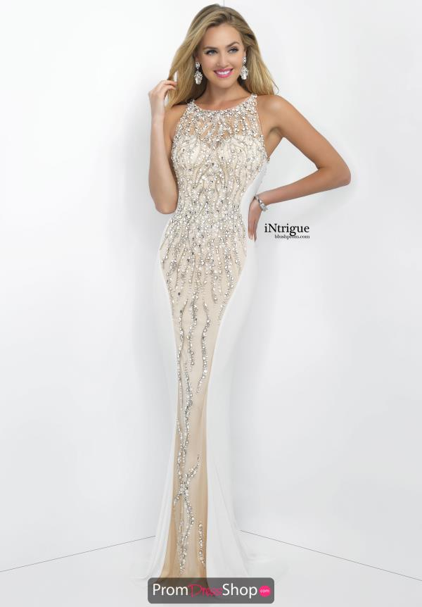 Intrigue by Blush Long Fitted Dress 137