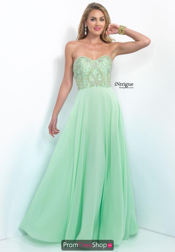Strapless A Line Intrigue by Blush Dress 164