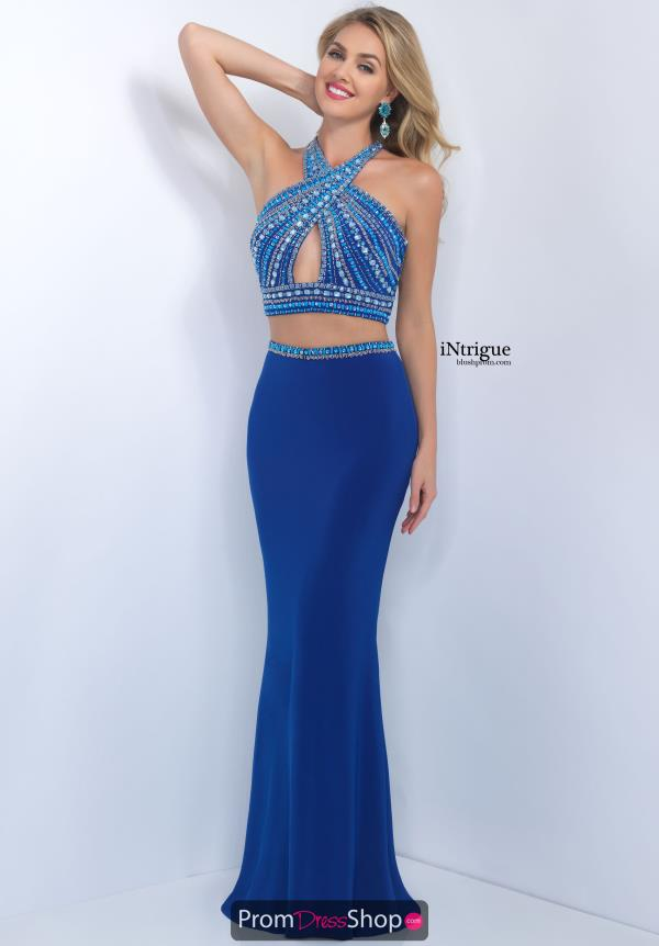 Beaded Halter Top Intrigue by Blush Dress 169