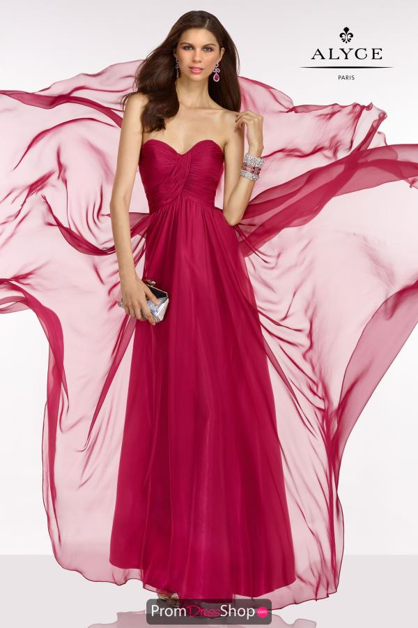 B'Dazzle Long Chiffon Dress 35779