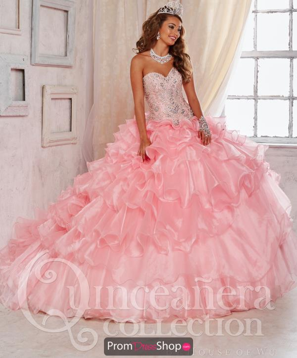 Tiffany Quince 26824 Organza Layered Skirt Dress