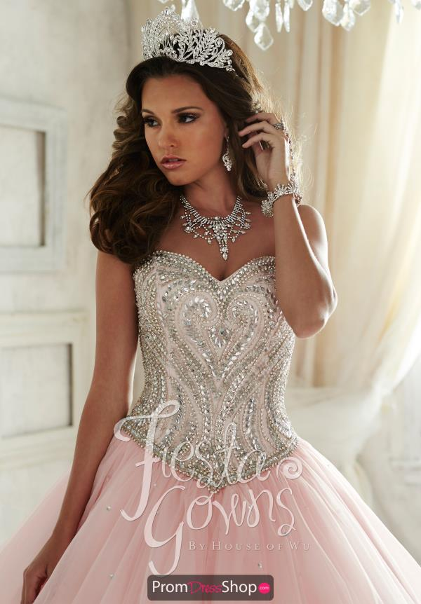 Amazing Tiffany Fiesta Quince 56290 Ball Gown