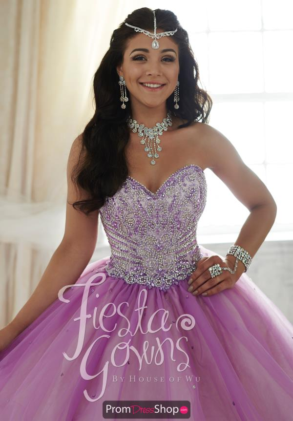 Tiffany Fiesta Quince 56294 Amazing Beaded Dress