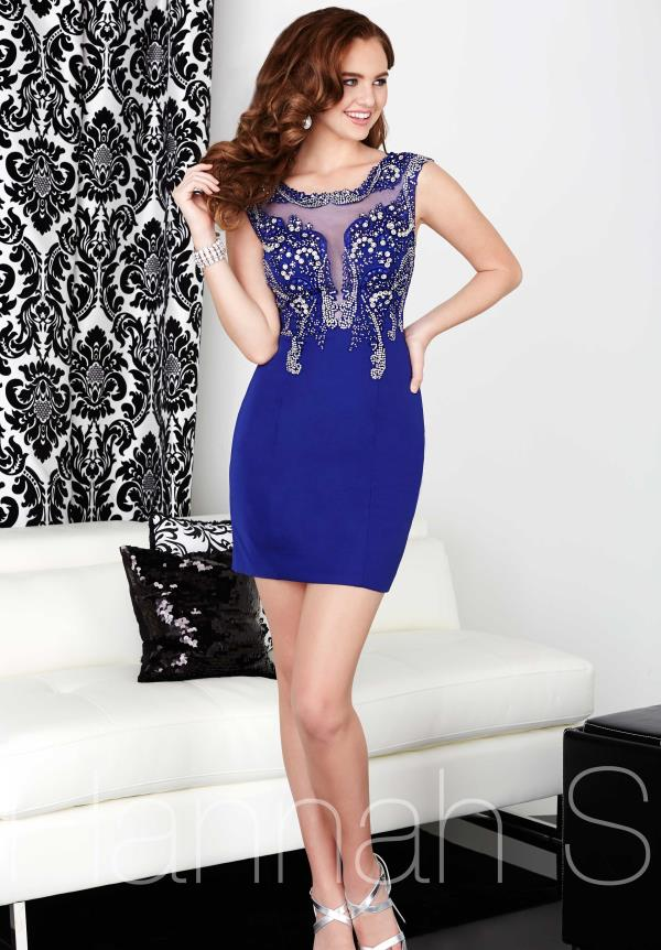 Hannah S Sleeved Fitted Dress 27047
